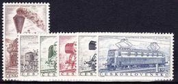 ** Tchécoslovaquie 1956 Mi 988-93 (Yv 875-80), (MNH) - Ongebruikt