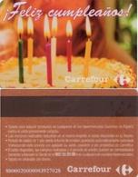 TARJETA REGALO DE ESPAÑA, GIFT CARD. CARREFOUR. 012. - Tarjetas De Regalo