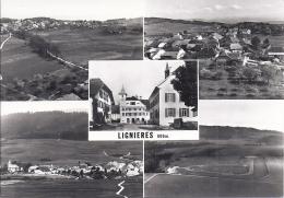 15549.....LIGNIERES, Vue De Dessus - NE Neuchâtel