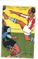 FOOTBALL - Jeux Olympiques PARIS 1924 - Vente Directe - Illustrateur - Football