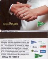 TARJETA REGALO DE ESPAÑA, GIFT CARD. EL CORTE INGLES. 013. - Tarjetas De Regalo
