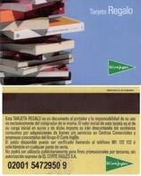 TARJETA REGALO DE ESPAÑA, GIFT CARD. EL CORTE INGLES. 014. - Tarjetas De Regalo