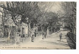 CPA BANLIEU DE MARSEILLE / Saint - Antoine / BOREL - Boulevard Du Chemin De Fer - Quartiers Nord, Le Merlan, Saint Antoine