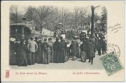 Paris-Le Jardin D'Acclimatation-La Foule Devant Les Phoques (Précurseur) (CPA) - Parks, Gardens