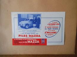 "PILES MAZDA ""SUPERCONTROL"" CONCOURS 1953 4cv RENAULT-SPORT - Automobile"