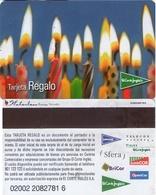 TARJETA REGALO DE ESPAÑA, GIFT CARD. EL CORTE INGLES. 016. - Tarjetas De Regalo