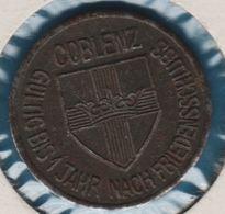 STADT COBLENZ 10 PFENNIG 1918 KRIEGSGELD Funck# 80.1 - [ 2] 1871-1918 : German Empire