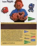 TARJETA REGALO DE ESPAÑA, GIFT CARD. EL CORTE INGLES. 017. - Tarjetas De Regalo