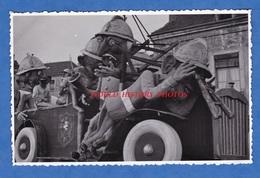 Carte Photo - CHALON Sur SAONE - Cavalcade / Défilé De Char à Identifier - Pompiers ? Camion ? Grim - Chalon Sur Saone