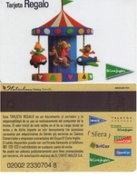 TARJETA REGALO DE ESPAÑA, GIFT CARD. EL CORTE INGLES. 018. - Tarjetas De Regalo