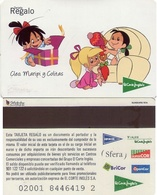 TARJETA REGALO DE ESPAÑA, GIFT CARD. EL CORTE INGLES. 020. - Tarjetas De Regalo