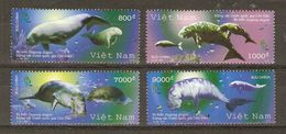 Vietnam - 2007 - Dugong - Série Complète MNH - 2270/73 - Animaux Du Parc National Con Dao - Marine Mammals