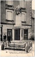 19 TREIGNAC - Monument élevé à La  Mémoire Des Morts De La Grande Guerre - Treignac