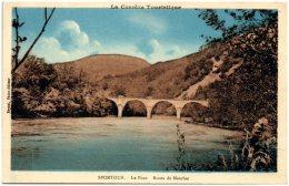 19 SPONTOUR - Le Pont - Route De Mauriac - Francia