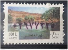 Lebanon 2000 Fiscal Revenue Stamp 100 L - MNH - Al Assi River - Lebanon