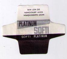 LAMETTA DA BARBA - PLATINUM SOFTI - Razor Blades
