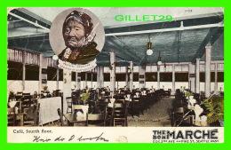 INDIENS - PRINCESS ANGELINE DAUGHTER OF CHIEF SEATTLE - - CAFÉ, FOURTH FLORR, THE BON MARCHÉ, SEATTLE WA. - TRAVEL 1908 - Indiens De L'Amerique Du Nord