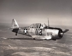US Army Avion D'Entrainement North American NA-16 116721 Ancienne Photo 1940's? - Aviation