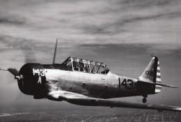 Avion De Chasse Ou Entrainement US Army En Vol Ancienne Photo 1940's ? - Aviation