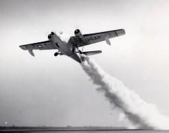 US Air Force Grumman Albatross Envol Aviation Militaire Ancienne Photo 1960's - Aviation