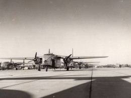 Fairchild C-82 Packet Avions Cargo US Air Force ? Ancienne Photo 1950's - Aviation