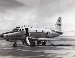 US Air Force North American T-39 Sabreliner Aviation Militaire Ancienne Photo 1960's - Aviation