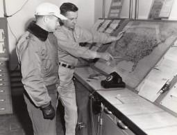 Texas Randolph Air Force Base Station De Previsions Meteo? Ancienne Photo 1960's - War, Military