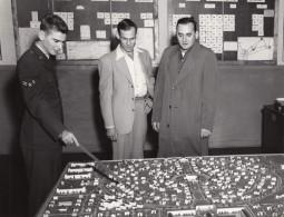 Texas Randolph Air Force Base Plan D'Urbanisme Ancienne Photo 1960's - War, Military