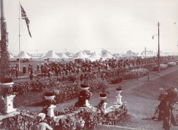 Inde Lucknow? Colonie Anglaise Royal Field Artillery Artillerie ? Ancienne Photo Lawrie 1910 - War, Military
