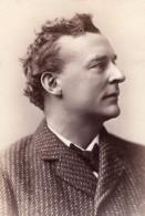 USA Portrait De L'Acteur De Theatre John Edward McCullough Autographe Ancienne Photo 1881 - Gehandtekende Foto's