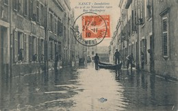 54) NANCY : Inondations Des 9 Et 10 Novembre 1910 - Rue Martimprey - Nancy