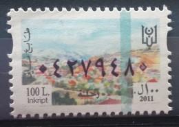 Lebanon 2011 Fiscal Revenue Stamp 100 L - MNH - Zahle - Lebanon