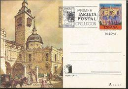 J) 1975 SPAIN, POSTCARD, PARISH OF SAN GINES, ARENAL STREETS, WITH SLOGAN CANCELLATION - 1971-80 Oblitérés