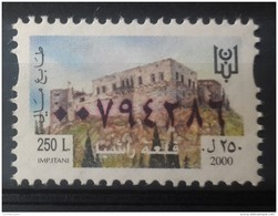 Lebanon 2000 Fiscal Revenue Stamp 250 L - MNH - Fortress Of Rachya - Liban