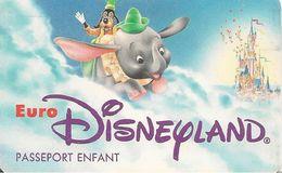 PASS-EURODISNEYLAND-1994-DUMBO-VGS-00005-TBE - Pasaportes Disney