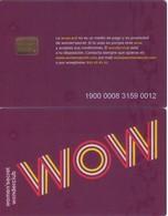 TARJETA REGALO DE ESPAÑA, GIFT CARD. WOW, WOMEN'SECRET. 028. - Tarjetas De Regalo