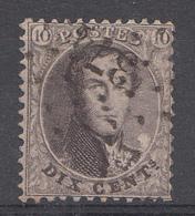 Belqique 1863  Mi.Nr: 11  König Leopold  Oblitèré / Used / Gebruikt - 1863-1864 Medallions (13/16)