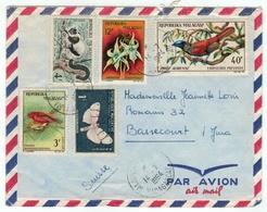 Madagascar // Lettre Pour La Suisse - Madagascar (1960-...)