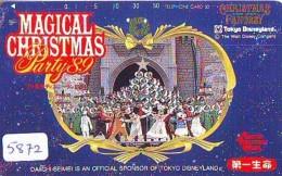Télécarte Japon * 110-77456 - DISNEY - NOEL - CHRISTMAS FANTASY Dai Ichi (5872) DISNEYLAND Japan Phonecard WEIHNACHTEN - Disney