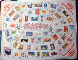 JEU DE L'OIE  GIOCCO DE LOCO ALSACE LEVURE ALSA JEU DE SOCIETE OFFERT PAR ALSA TRES BON ETAT 1950 50 X 39 CM BON ETAT - Group Games, Parlour Games