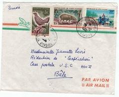 Côte D'Ivoire// Lettre Pour La Suisse - Côte D'Ivoire (1960-...)