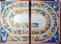 JEU DE L'OIE  DE LA SAMARITAINE JEAN CHAPERON  GIOCO DE LOCCO JEU OFFERT PAR LA SAMARITAINE CARTONNE 54 X 39 CM BON ETAT - Unclassified
