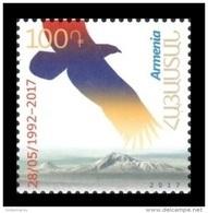 Armenia 2017 Mih. 1014 25th Anniversary Of First Postage Stamp Of Armenia. Bird. Eagle MNH ** - Arménie