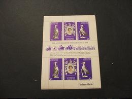 CHRISTMAS - BF 1978 INCORONAZIONE/UCCELLI 3 + 3 VALORI, In Minifogli - NUOVO(++) - Christmas Island