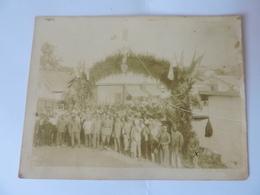 Souvenir De La SP 51 à Salonique Le 18 Juillet 1918 PHOTO 12X9cm - Guerre, Militaire