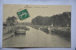MONTCHANIN-bois Bretou-port Du Canal - France