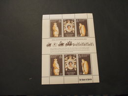 ASCENSION - BF 1978 INCORONAZIONE/ANIMALI 3 + 3 VALORI, In Minifogli - NUOVO(++) - Ascensione