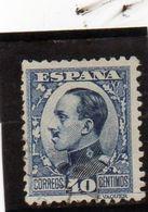 B - 1930 Spagna - Re Alfonso XIII - Gebraucht