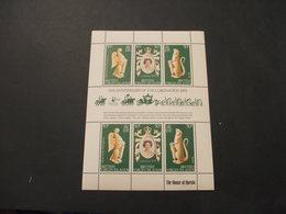 VIRGIN - BF 1978 INCORONAZIONE/ANIMALI 3 + 3 VALORI, In Minifogli - NUOVO(++) - British Virgin Islands