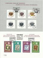 RO 2013- 125YEAR OF PROCLAMATION ROMANIAN KINGDOM, S/S, MNH - Blocks & Kleinbögen